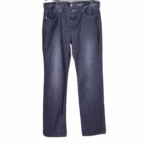 7 For All Mankind Standard Straight Leg Jeans-Mens